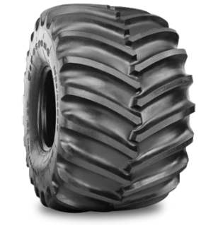 RADIAL FLOTATION DEEP TREAD 23° Specialized Features